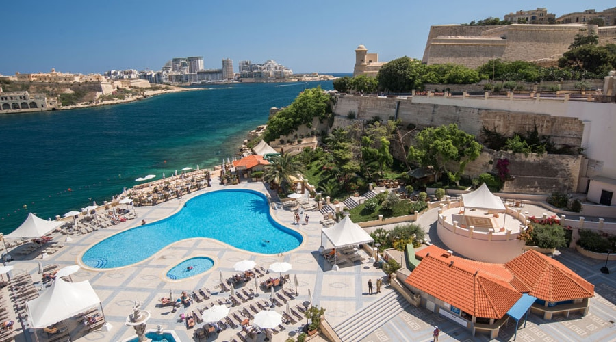 Grand Hotel Excelsior, Valletta 1