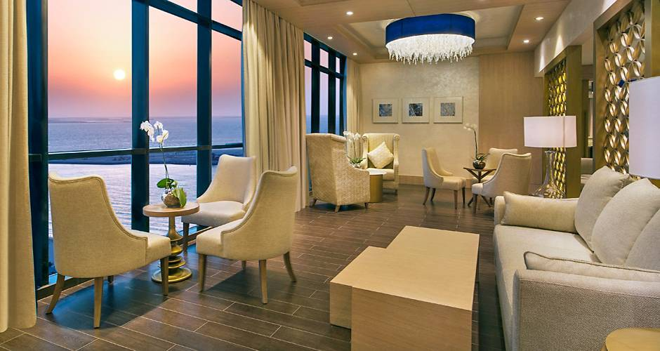 Habtoor Grand Beach Resort & Spa 16 - <p>Club Lounge</p>