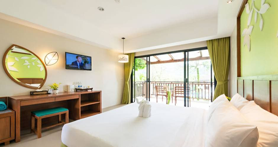 Kata Sea Breeze - The Leaf Oceanside 22 - Khao Lak: <p>Leaf-huone</p>
