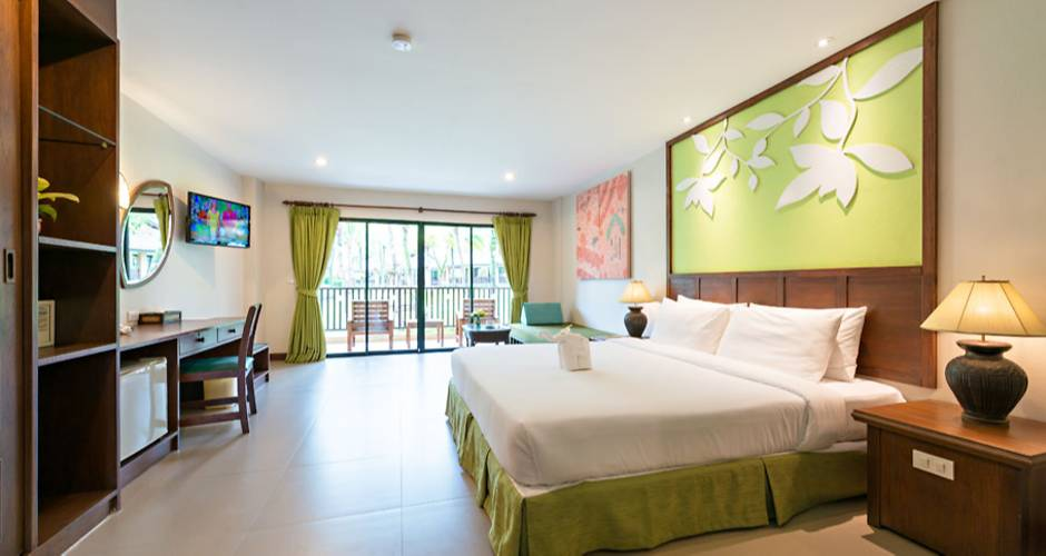 Kata Palm Resort & Spa - The Leaf Oceanside 29 - Khao Lak: <p>Garden-huone</p>