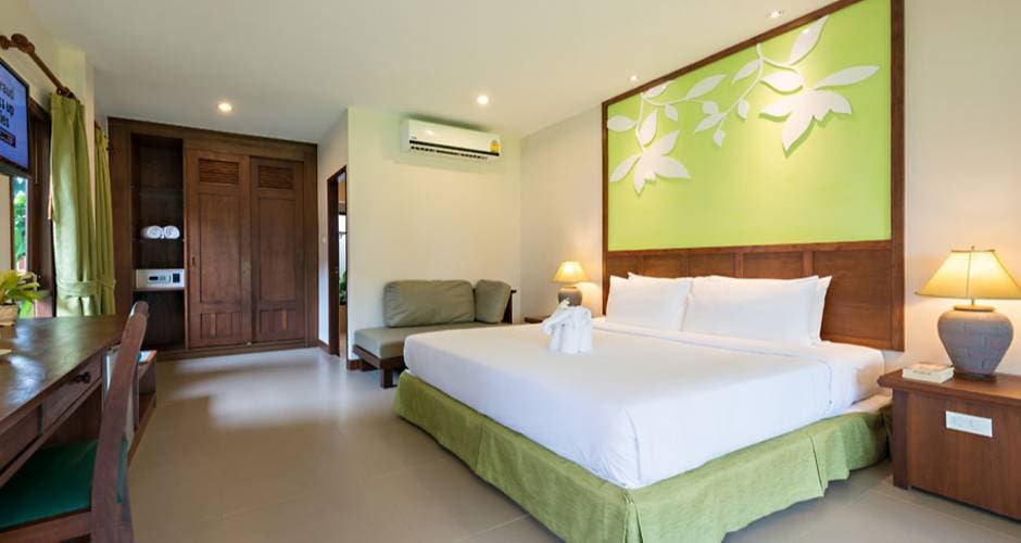 Kata Palm Resort & Spa - The Leaf Oceanside 31 - Khao Lak: <p>Palm Villa -huone</p>